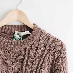 Vintage Sweaters - ➰ mauve oversized sweater ➰